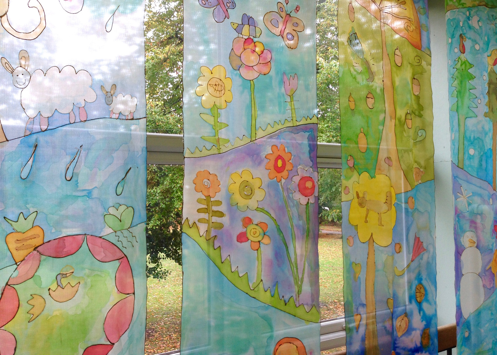 Silk Painting  Ursula Hurst