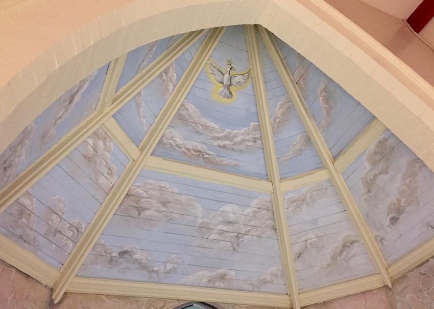 St Charles Mural Ursula Hurst