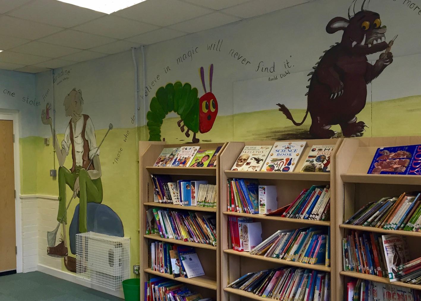 Library Mural Ursula Hurst